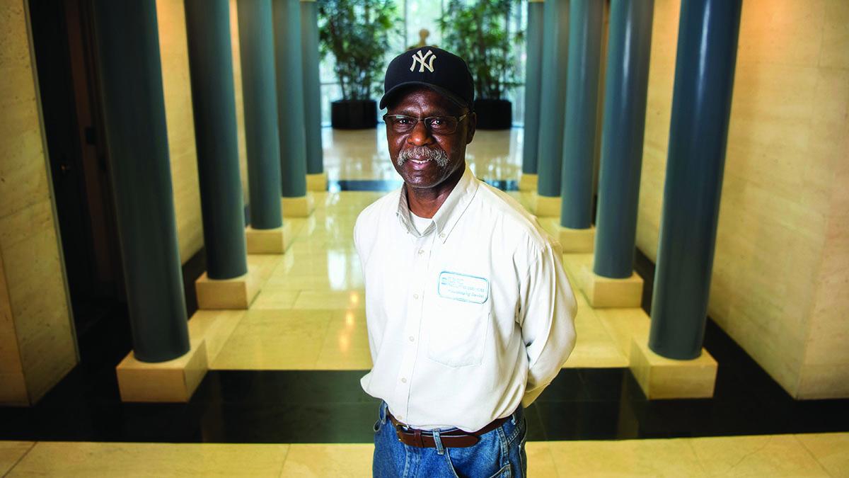 Daryl Odom poses for portrait