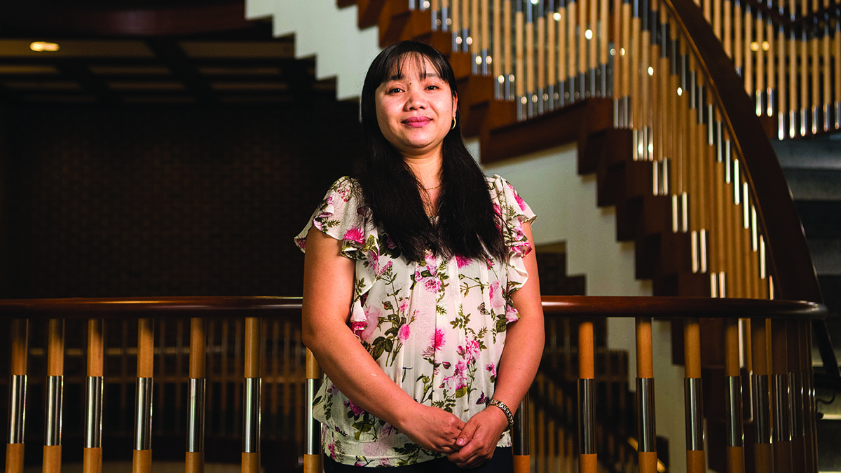 Nan Kham poses for a portrait