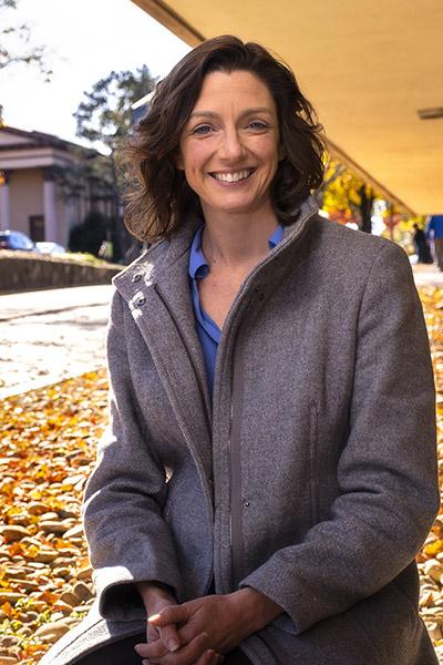 Sara Algoe, associate professor of psychology.