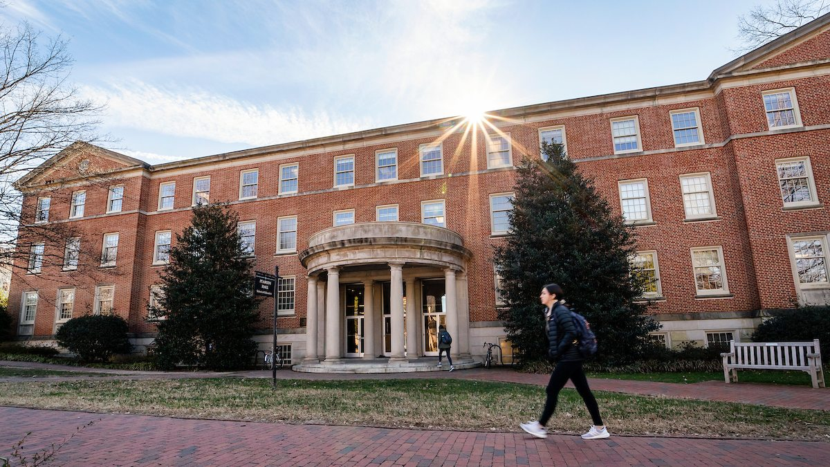 Exterior view of Peabody Hall, home of the UNC School of Education, on January 30, 2019, on the campus of the University of North Carolina at Chapel Hill. (Johnny Andrews/UNC-Chapel Hill)