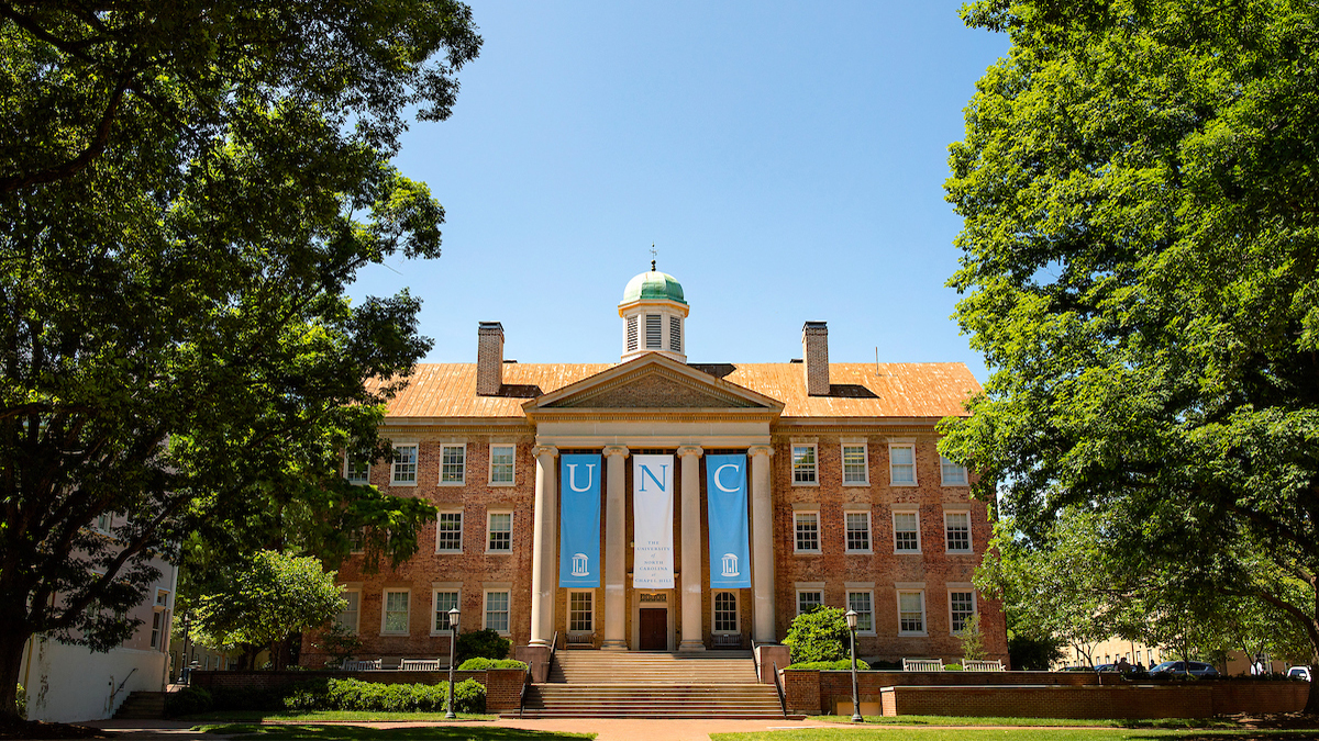 South Building on the UNC-Chapel Hill campus