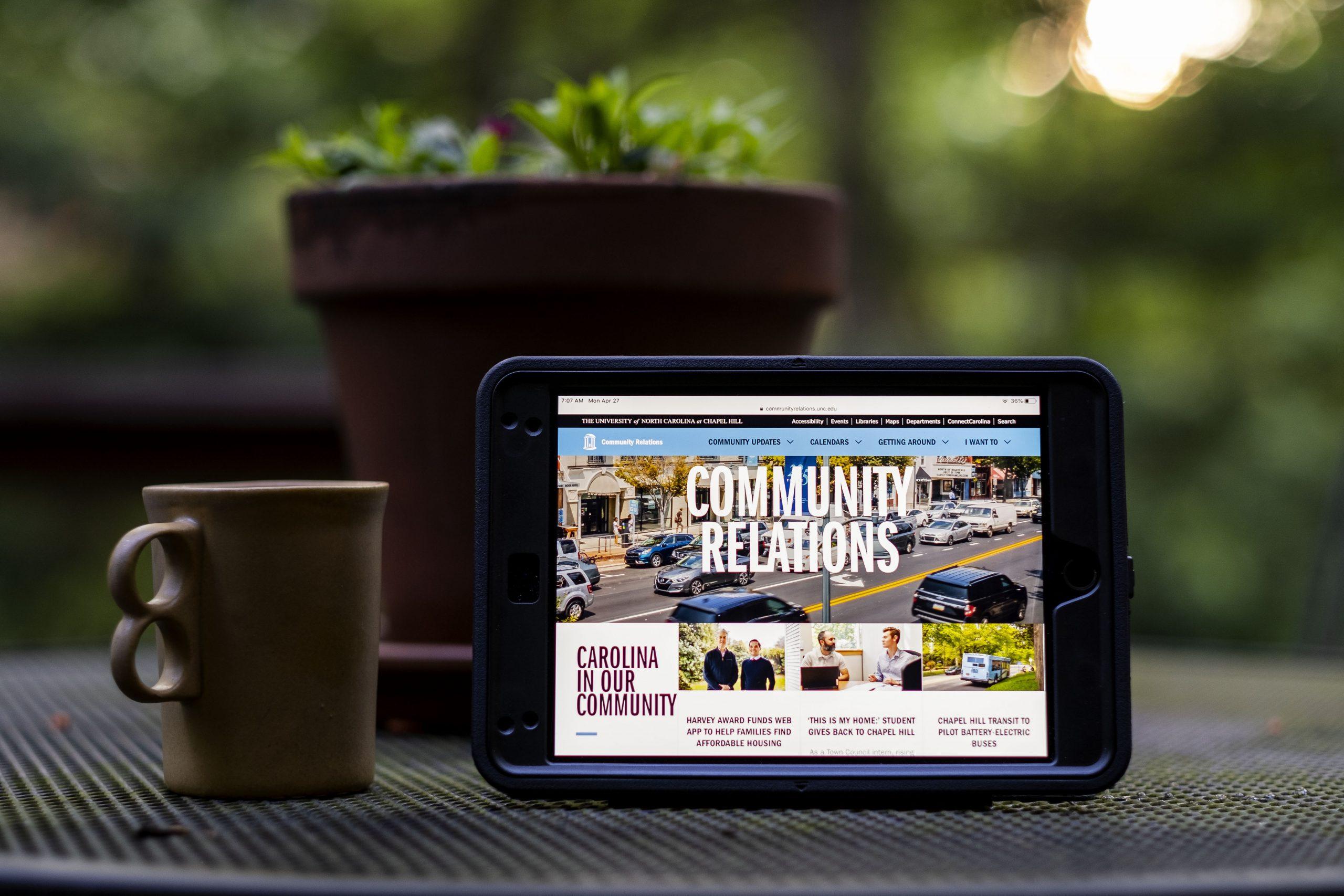 community relations website