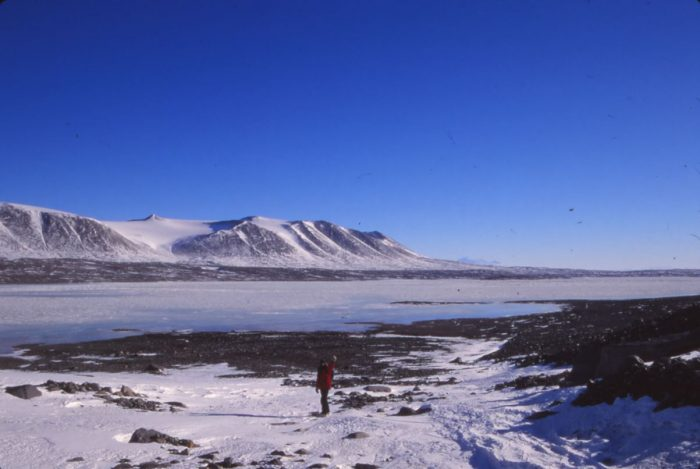 Hans Paerl in Antarctica's McMurdo Dry Valleys. Courtesy/Hans Paerl.