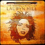 """""""The miseducation of Lauryn Hill"""" album cover"""