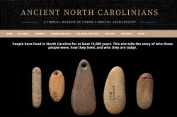 the homepage of Ancient NC