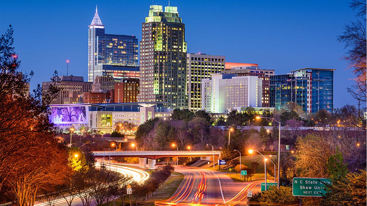 Downtown Raleigh, N.C.
