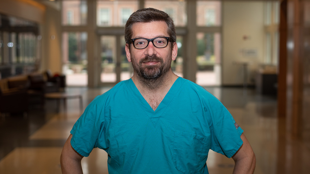 Dr. Kimon Divaris at the UNC Adams School of Dentistryt