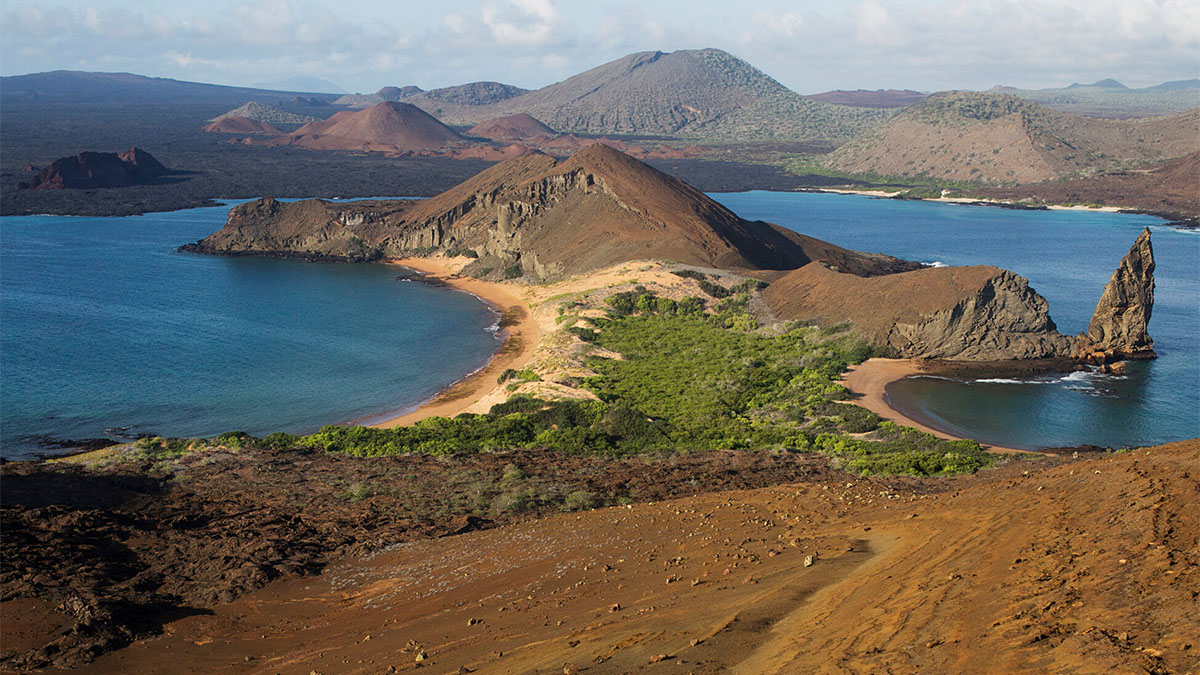 Bartolomé Island is one of the most frequently visited sites in the Galápagos archipelago. (photo by Megan May)