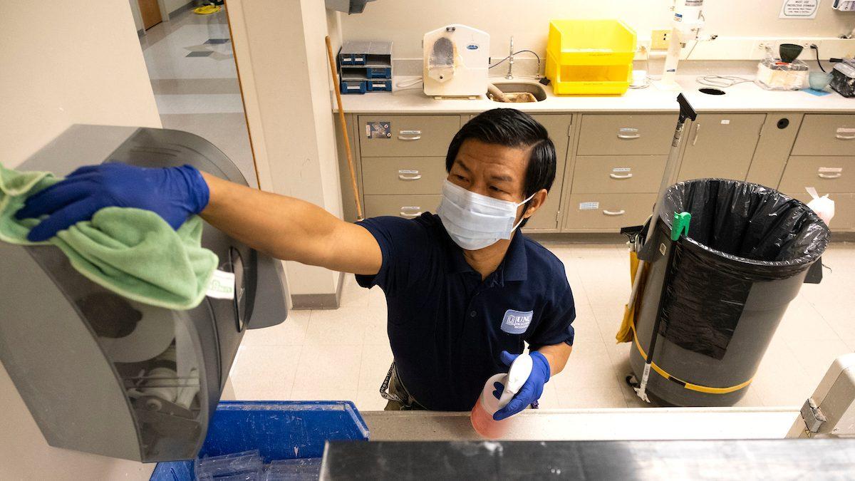 Keeping Carolina clean