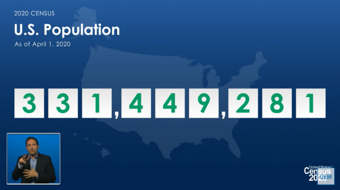 The U.S. population is 331,449,281