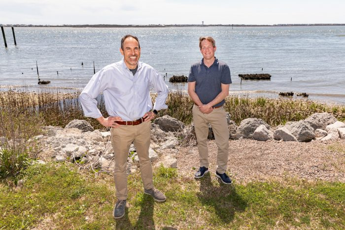 Rodriguez and Piehler, a professor at IMS who also serves as the director of the UNC Institute for the Environment and Carolina's chief sustainability officer, are working together on the project.
