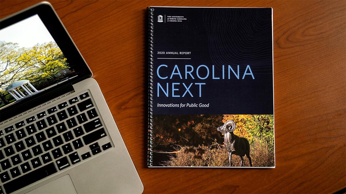 Carolina Next 2020 Annual Report. (Jon Gardiner/UNC-Chapel Hill)