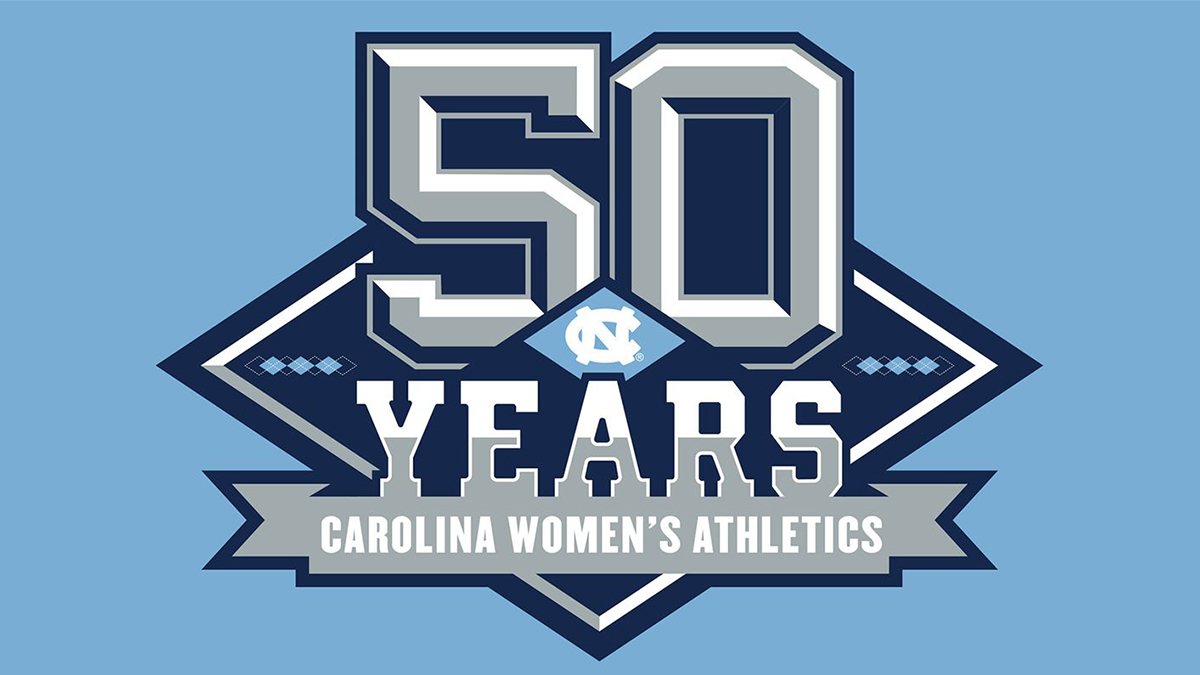 50 years of women's sports at UNC