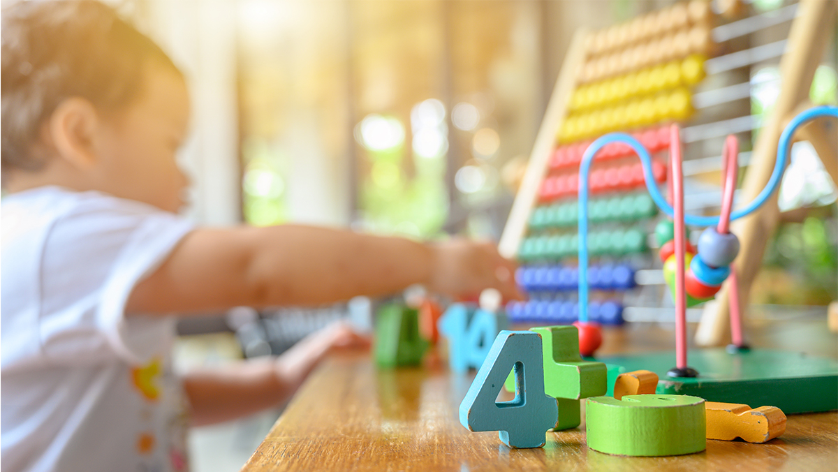 The first year of the study found consistent positive effects on language and literacy skills at the end of preschool. (Adobe stock image)