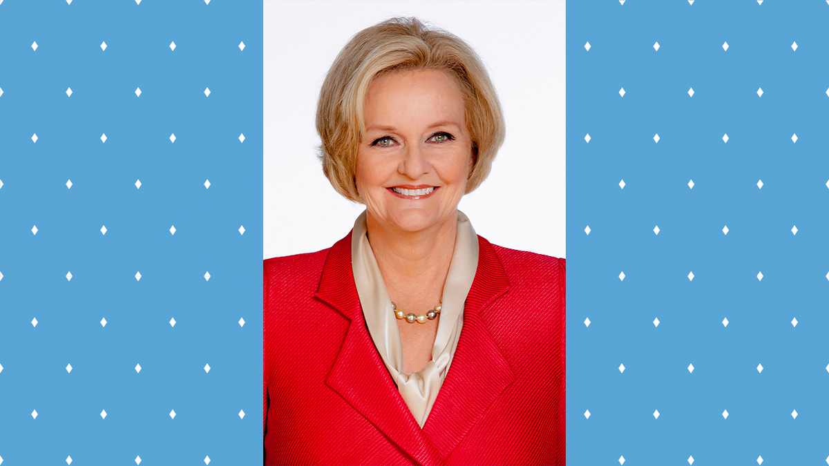 McCaskill was elected to the Missouri House of Representatives and made history when she became the first woman elected Jackson County prosecutor, where she launched one of the nation's first drug courts and established a first-of-its-kind domestic violence unit. (Image courtesy of the Institute for the Arts & Humanities)